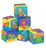Меки кубчета за баня 6м+