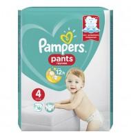Pampers Pants 4 9-14кг. 16бр.