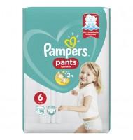 Pampers Pants 6 16кг+ 14бр.