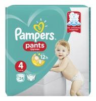 Pampers Pants 4 9-14кг. 24бр.