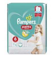 Pampers Pants 6 16кг+ 19бр.