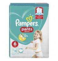 Pampers Pants 6 15кг+ 38бр.