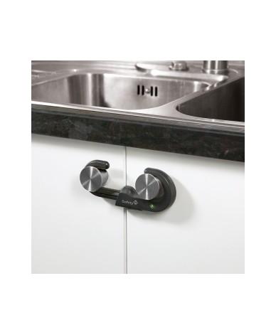 Устройство за заключване на шкаф (1 бр./оп.) – сив цвят