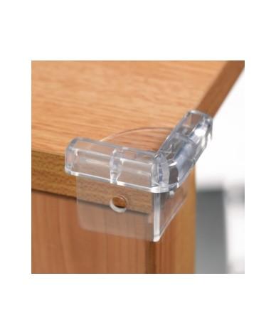 Пластмасови прозрачни протектори за ъгли и ръбове (4 бр./оп.)