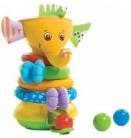 Активно-двигателна играчка Musical Stack & Ball Game - Elephant 6м+