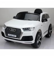 Акумулаторен джип Audi Q7 New-бял