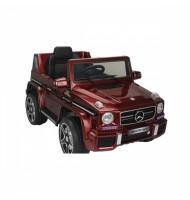 Акумулаторен джип Mercedes Benz G63-червен