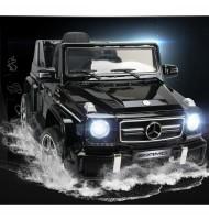 Акумулаторен джип Mercedes Benz G63-черен