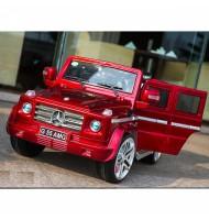 Акумулаторен джип Mercedes G55 AMG-червен