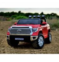 Двуместен акумулаторен джип Toyota Tundra-червена
