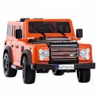 Акумулаторен джип тип Land Rover Defender-оранжев