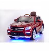 Акумулаторен джип Mercedes Benz GL63 AMG-червен
