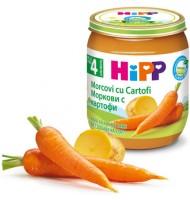 БИО Ранни моркови с картофи 125 гр.