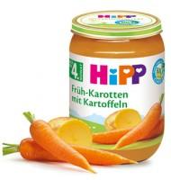 БИО Ранни моркови с картофи 190 гр.