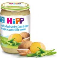 Hipp Картофи със зелен боб и заешко