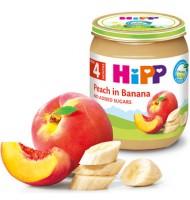 Hipp БИО Праскови с банани