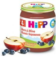 Hipp БИО Ябълки с боровинки