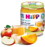 Hipp БИО Ябълка и манго с извара