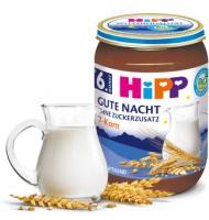 "Hipp HiPP Био млечна каша ""Лека нощ"" 7 зърна"