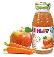 Hipp БИО Сок от ябълки и моркови