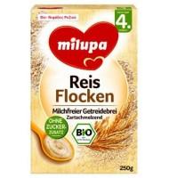 Milupa био безмлечна каша ориз 4+м. 250г