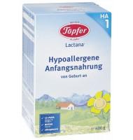 Lactana на1 хипоалергенно мляко за кърмачета 0+м. 600 г