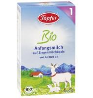 Topfer 1 био козе мляко за кърмачета 0+м. 400г
