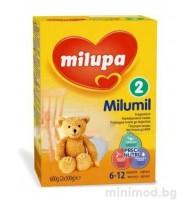 Milumil 2 преходно мляко 6-12 мес. 600гр.
