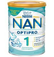 NAN 1 optipro мляко за кърмачета 0+ мес. 800 гр.