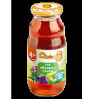 Бебешки сок Ябълка и Слива 4+