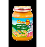 Слънчо Картофена крем супа със сухар