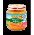 Слънчо зеленчуково пюре с натурален морков 4+ мес. 130 гр.